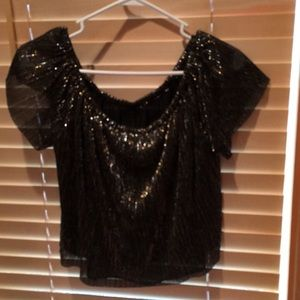 Sparkly cute top